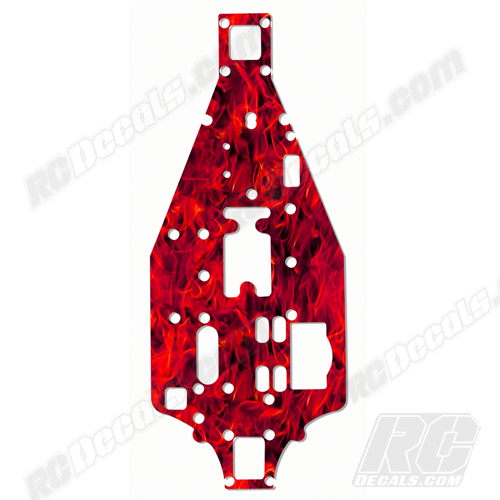 Traxxas 4-Tec RC Chassis Protector Decal - Flames (Any Color!) rc decals, rc, radio controlled, decals, team associated, chassis protector decals, rc cars, rc truck, rc starter wand, rc graphics, rc graphic kits, drone, rc drone, drone decals, traxxas decals, rc stickers, flag decals, radio controlled car stickers, drone stickers, dji stickers, dji decals, losi decals, losi stickers