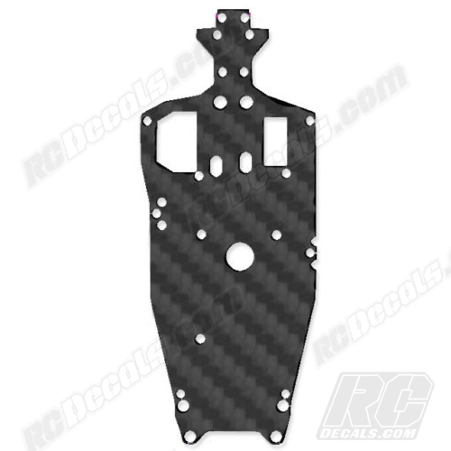Traxxas Jato 3.3 RC Chassis Protector Decal - Black Carbon Fiber rc decals, rc, radio controlled, decals, team associated, chassis protector decals, rc cars, rc truck, rc starter wand, rc graphics, rc graphic kits, drone, rc drone, drone decals, traxxas decals, rc stickers, flag decals, radio controlled car stickers, drone stickers, dji stickers, dji decals, losi decals, losi stickers