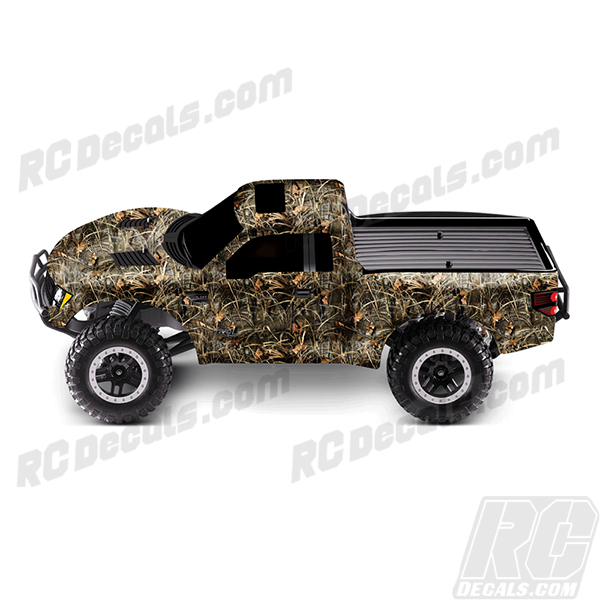 Traxxas Full RC Decal Kit- Raptor F150 - Max 4 Camo rc decals, rc, radio controlled, decals, team associated, chassis protector decals, rc cars, rc truck, rc starter wand, rc graphics, rc graphic kits, drone, rc drone, drone decals, traxxas decals, rc stickers, flag decals, radio controlled car stickers, drone stickers, dji stickers, dji decals, losi decals, losi stickers