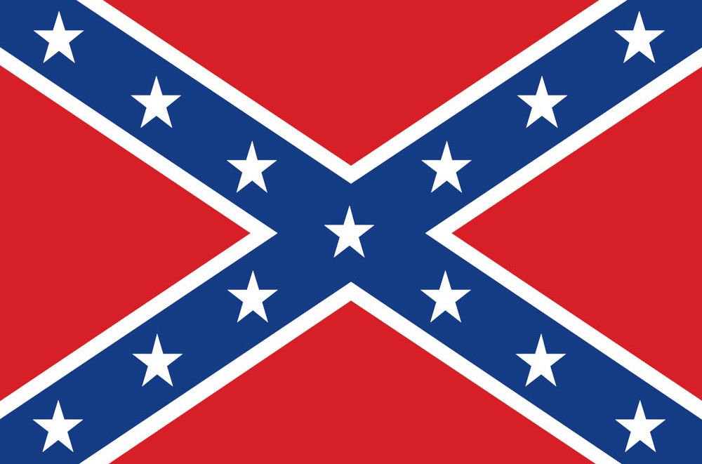 "Rebel Flag (Civil War) Decal 3"" x 5"" rc decals, rc, radio controlled, decals, team associated, chassis protector decals, rc cars, rc truck, rc starter wand, rc graphics, rc graphic kits, drone, rc drone, drone decals, traxxas decals, rc stickers, flag decals, radio controlled car stickers, drone stickers, dji stickers, dji decals, losi decals, losi stickers"