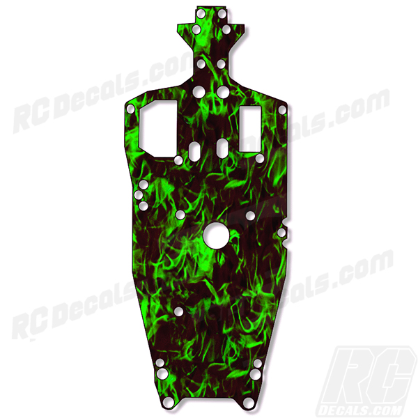 Traxxas Jato 3.3 RC Chassis Protector Decal - Flames (Any Color!) rc decals, rc, radio controlled, decals, team associated, chassis protector decals, rc cars, rc truck, rc starter wand, rc graphics, rc graphic kits, drone, rc drone, drone decals, traxxas decals, rc stickers, flag decals, radio controlled car stickers, drone stickers, dji stickers, dji decals, losi decals, losi stickers