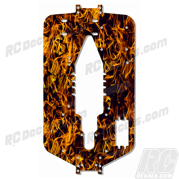 Traxxas T-Maxx 3.3 Extended Chassis Protector Decal - Flames (Any Color!) rc decals, rc, radio controlled, decals, team associated, chassis protector decals, rc cars, rc truck, rc starter wand, rc graphics, rc graphic kits, drone, rc drone, drone decals, traxxas decals, rc stickers, flag decals, radio controlled car stickers, drone stickers, dji stickers, dji decals, losi decals, losi stickers