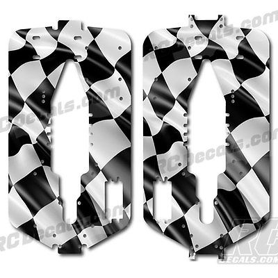 Rcdecals Traas T Ma 3 Extended Chis Protector Decal Checkered Flag