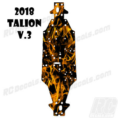 2018 Arrma Talion 6S BLX (V3) Chassis Protector Flames Orange rc decals, rc, radio controlled, decals, team associated, chassis protector decals, rc cars, rc truck, rc starter wand, rc graphics, rc graphic kits, drone, rc drone, drone decals, traxxas decals, rc stickers, flag decals, radio controlled car stickers, drone stickers, dji stickers, dji decals, losi decals, losi stickers