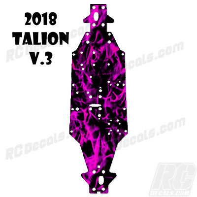 2018 Arrma Talion 6S BLX (V3) Chassis Protector Flames Pink rc decals, rc, radio controlled, decals, team associated, chassis protector decals, rc cars, rc truck, rc starter wand, rc graphics, rc graphic kits, drone, rc drone, drone decals, traxxas decals, rc stickers, flag decals, radio controlled car stickers, drone stickers, dji stickers, dji decals, losi decals, losi stickers