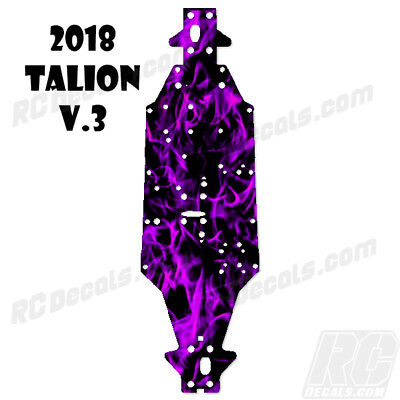 2018 Arrma Talion 6S BLX (V3) Chassis Protector Flames Purple rc decals, rc, radio controlled, decals, team associated, chassis protector decals, rc cars, rc truck, rc starter wand, rc graphics, rc graphic kits, drone, rc drone, drone decals, traxxas decals, rc stickers, flag decals, radio controlled car stickers, drone stickers, dji stickers, dji decals, losi decals, losi stickers