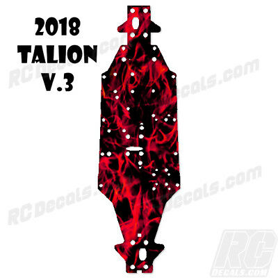 2018 Arrma Talion 6S BLX (V3) Chassis Protector Flames Red rc decals, rc, radio controlled, decals, team associated, chassis protector decals, rc cars, rc truck, rc starter wand, rc graphics, rc graphic kits, drone, rc drone, drone decals, traxxas decals, rc stickers, flag decals, radio controlled car stickers, drone stickers, dji stickers, dji decals, losi decals, losi stickers