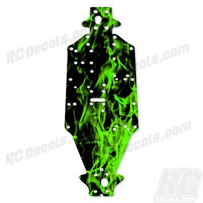 Arrma Outcast 6S BLX (V2) & Notorious Chassis Protector  Flames Green #AR320188 rc decals, rc, radio controlled, decals, team associated, chassis protector decals, rc cars, rc truck, rc starter wand, rc graphics, rc graphic kits, drone, rc drone, drone decals, traxxas decals, rc stickers, flag decals, radio controlled car stickers, drone stickers, dji stickers, dji decals, losi decals, losi stickers