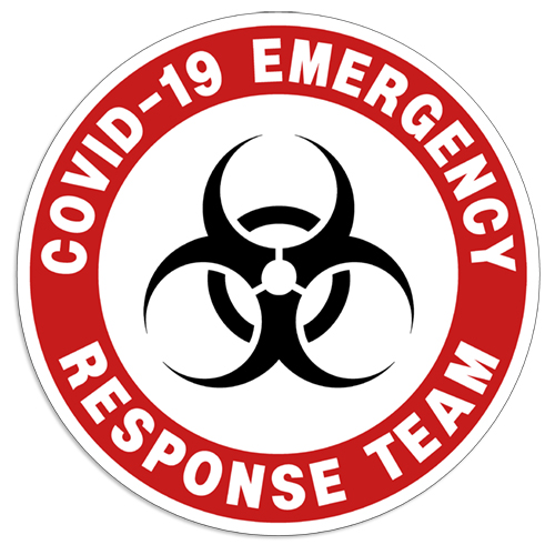 "Coronavirus Decal ""Covid-19 Emergency Response Team"" Sticker coronavirus decals, covid-19 decals, rc decals, rc, radio controlled, decals, team associated, chassis protector decals, rc cars, rc truck, rc starter wand, rc graphics, rc graphic kits, drone, rc drone, drone decals, traxxas decals, rc stickers, flag decals, radio controlled car stickers, drone stickers, dji stickers, dji decals, losi decals, losi stickers"