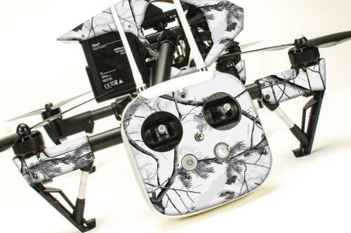 DJI Inspire RC Drone Skin Decal Kit - Blaze Camo