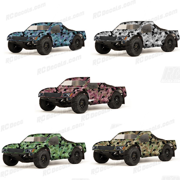SC-10 Team Associated RC Decal - Digital Camo (Any Color) - RC-SC10-ASS-DIGI-CAMO