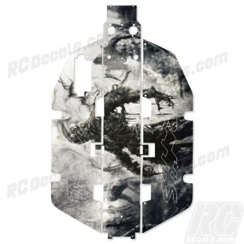 Traxxas Slash 2x2 Chassis Protector Decal RC - Zombie rc decals, rc, radio controlled, realtree blaze camoflauge, decals, team associated, 2wd, 4wd, 2x2, 4x4, chassis protector decals, rc cars, rc truck, rc starter wand, rc graphics, rc graphic kits, drone, rc drone, drone decals, traxxas decals, rc stickers, flag decals, radio controlled car stickers, drone stickers, dji stickers, dji decals, losi decals, losi stickers